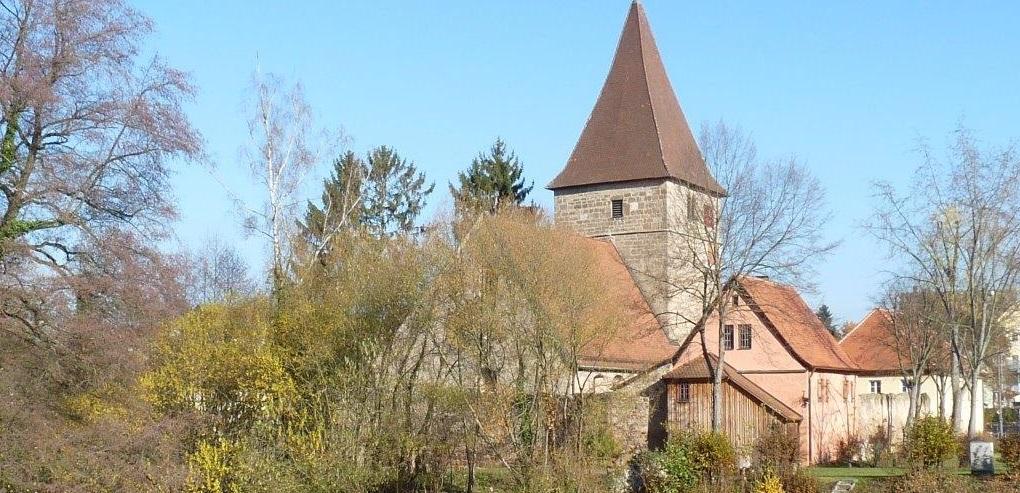 Wehrkirche in Nürnberg Katzwang