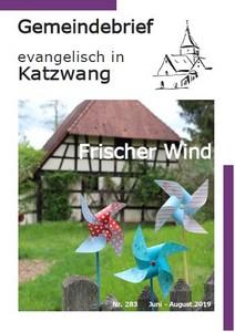 Gemeindebrief August 2019