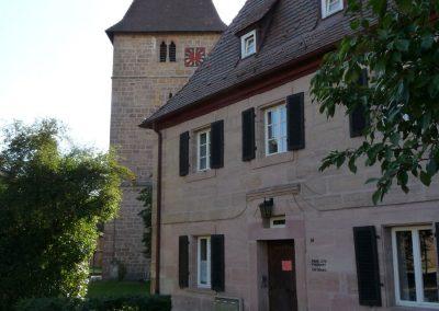 Wehrkirche-Pfarrhaus