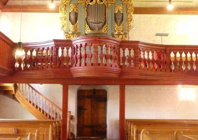 Wehrkirche Orgel